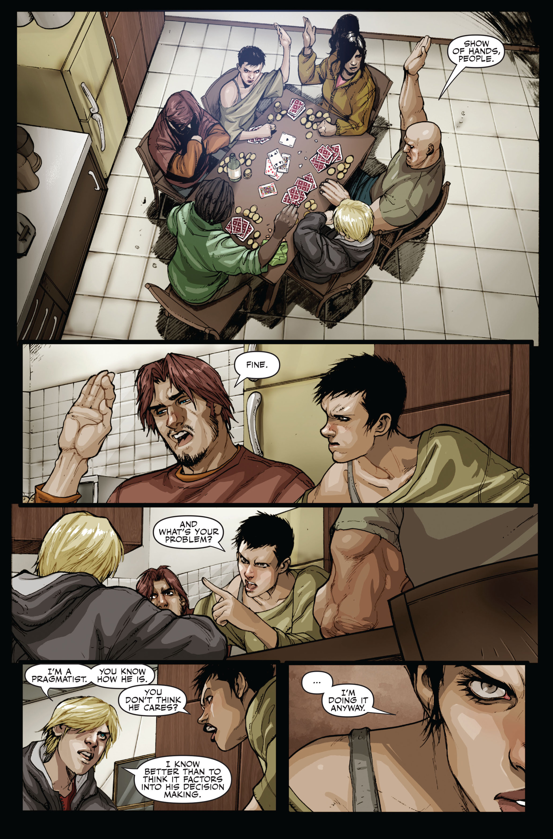 Read online Secret Warriors comic -  Issue #15 - 7