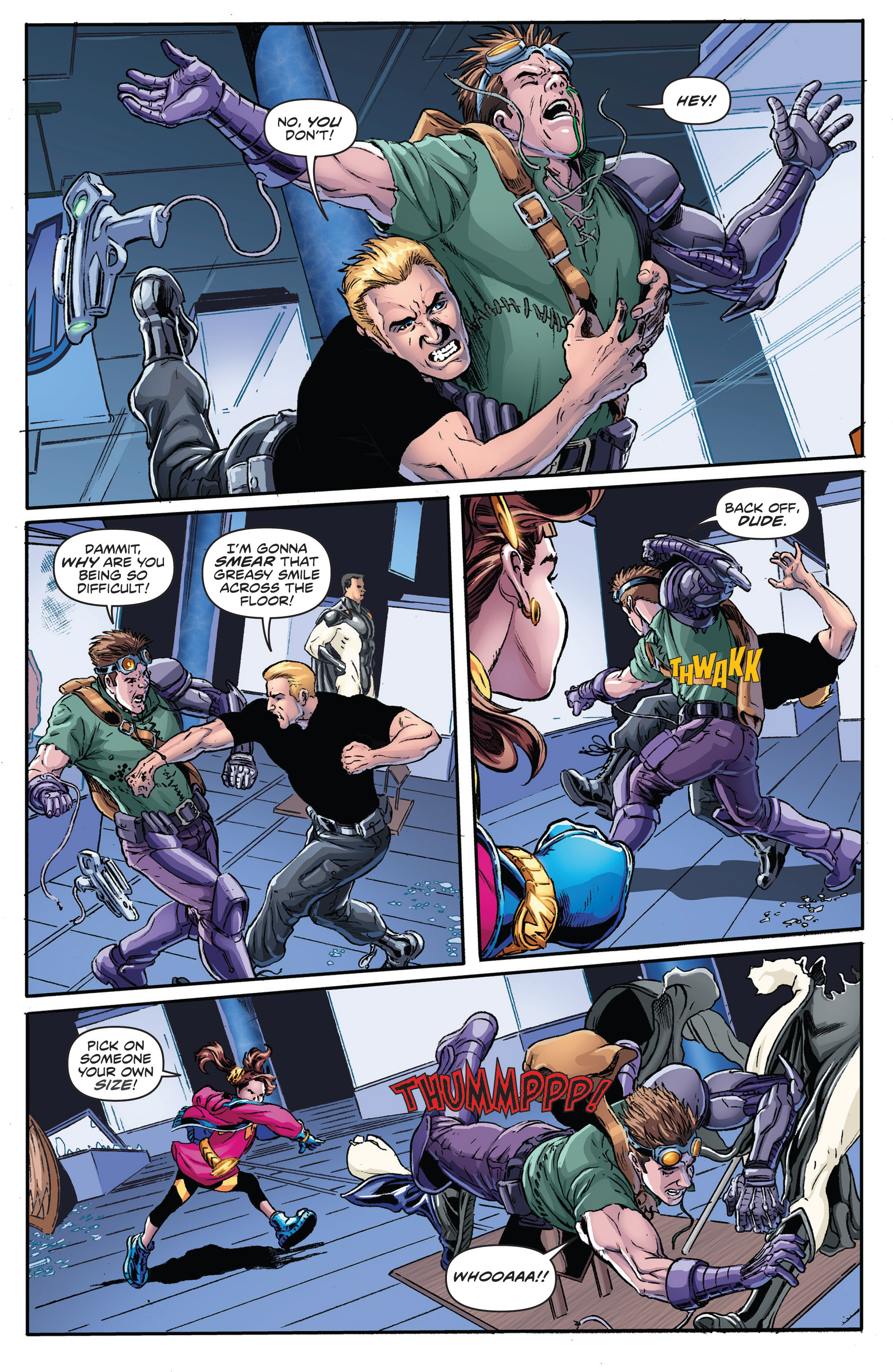 Read online Actionverse comic -  Issue #2 - 15