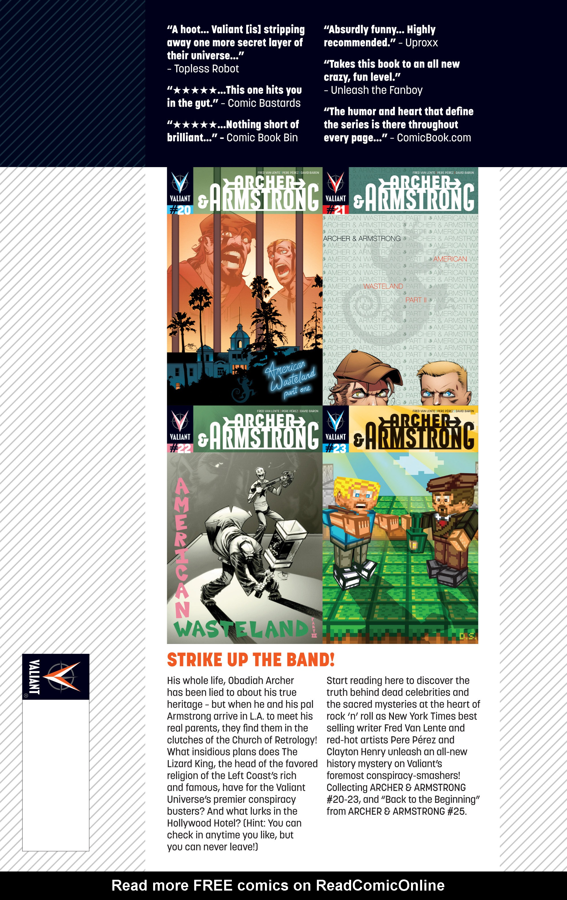 Read online Archer and Armstrong comic -  Issue #Archer and Armstrong _TPB 6 - 117