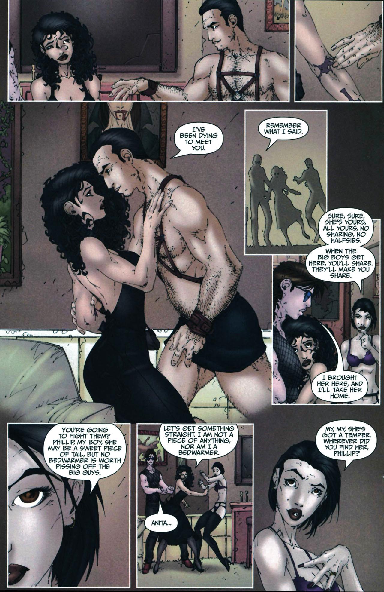 Read online Anita Blake, Vampire Hunter: Guilty Pleasures comic -  Issue #6 - 18