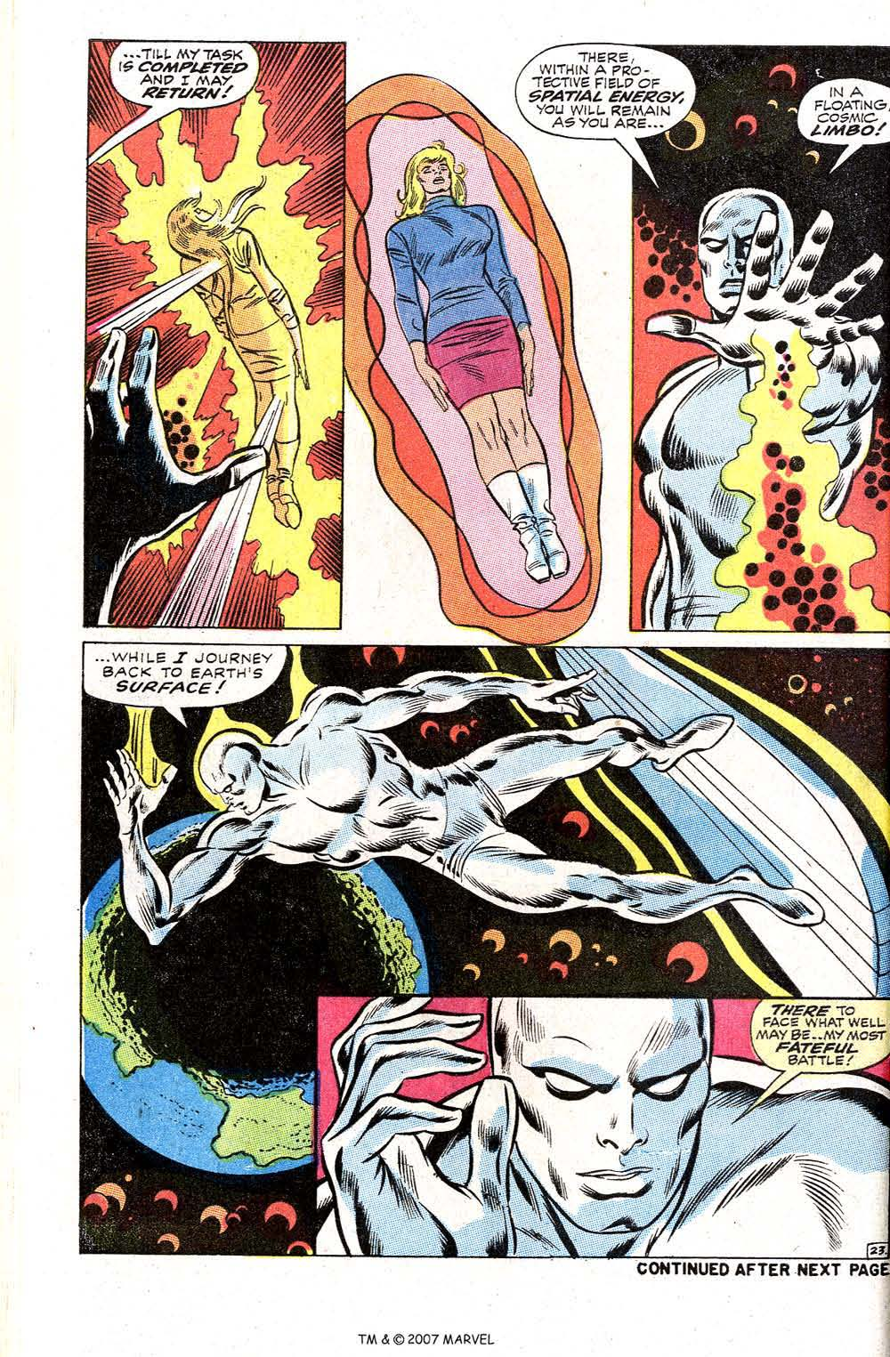 Read online Silver Surfer (1968) comic -  Issue #2 - 30