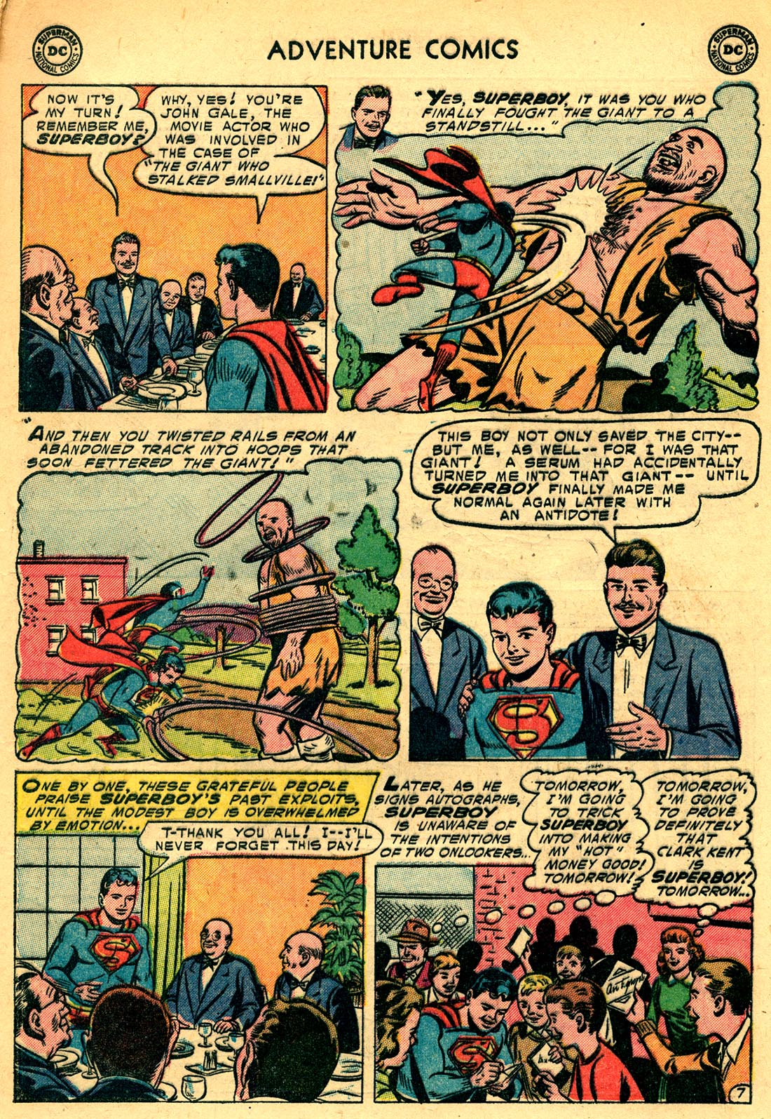 Read online Adventure Comics (1938) comic -  Issue #209 - 9