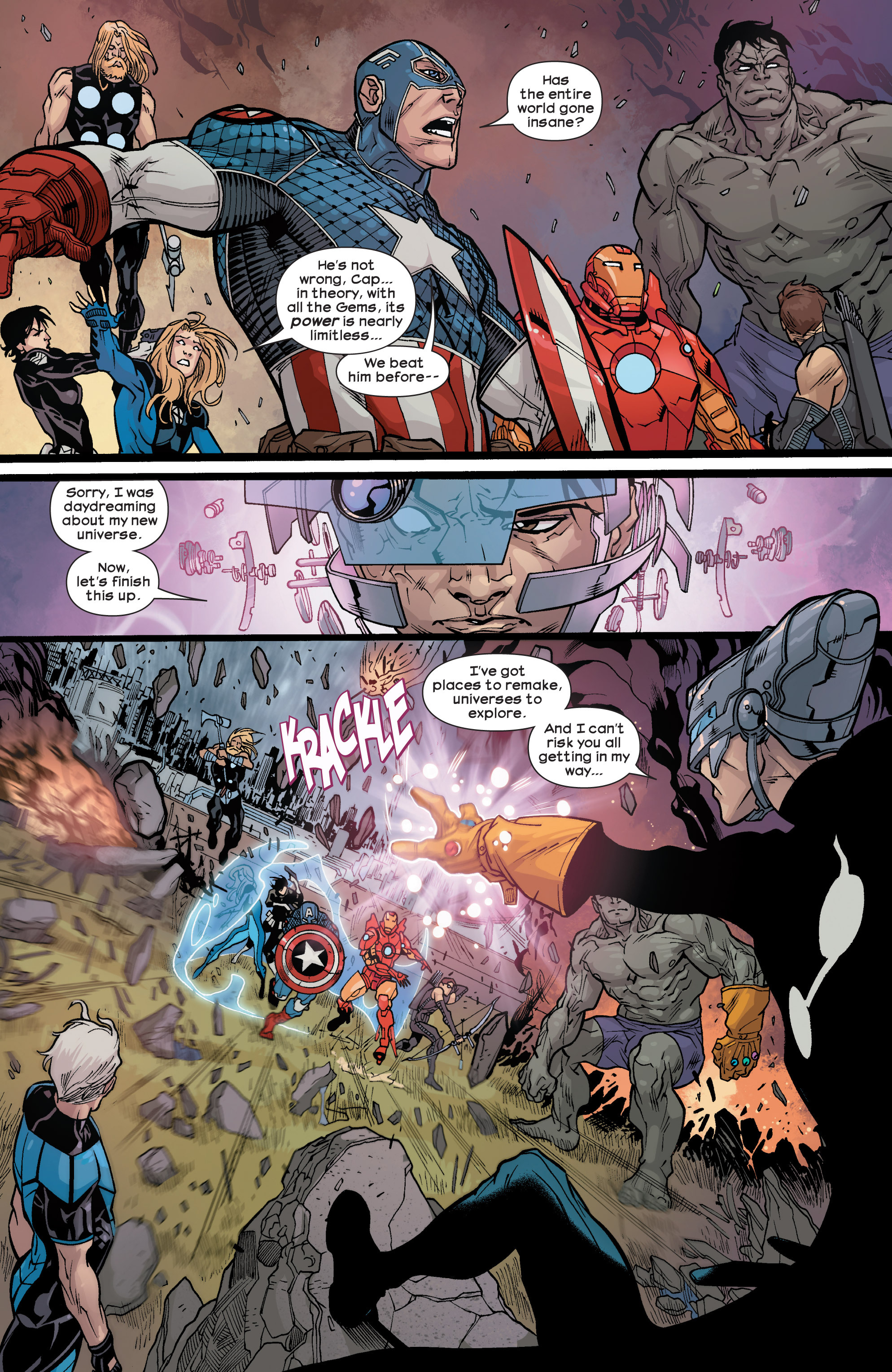 Read online Ultimate Comics Ultimates comic -  Issue #25 - 17