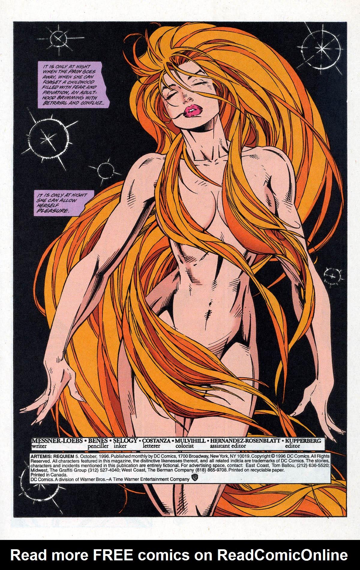 Read online Artemis: Requiem comic -  Issue #5 - 3