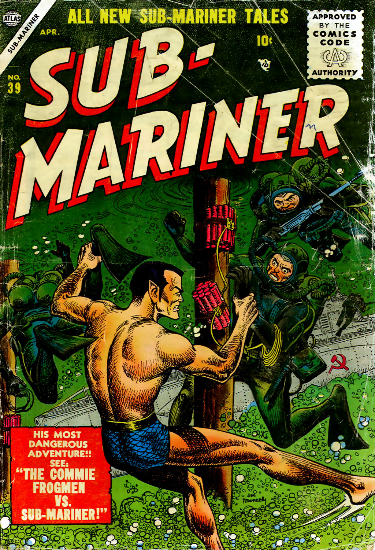 Sub-Mariner Comics 39 Page 1