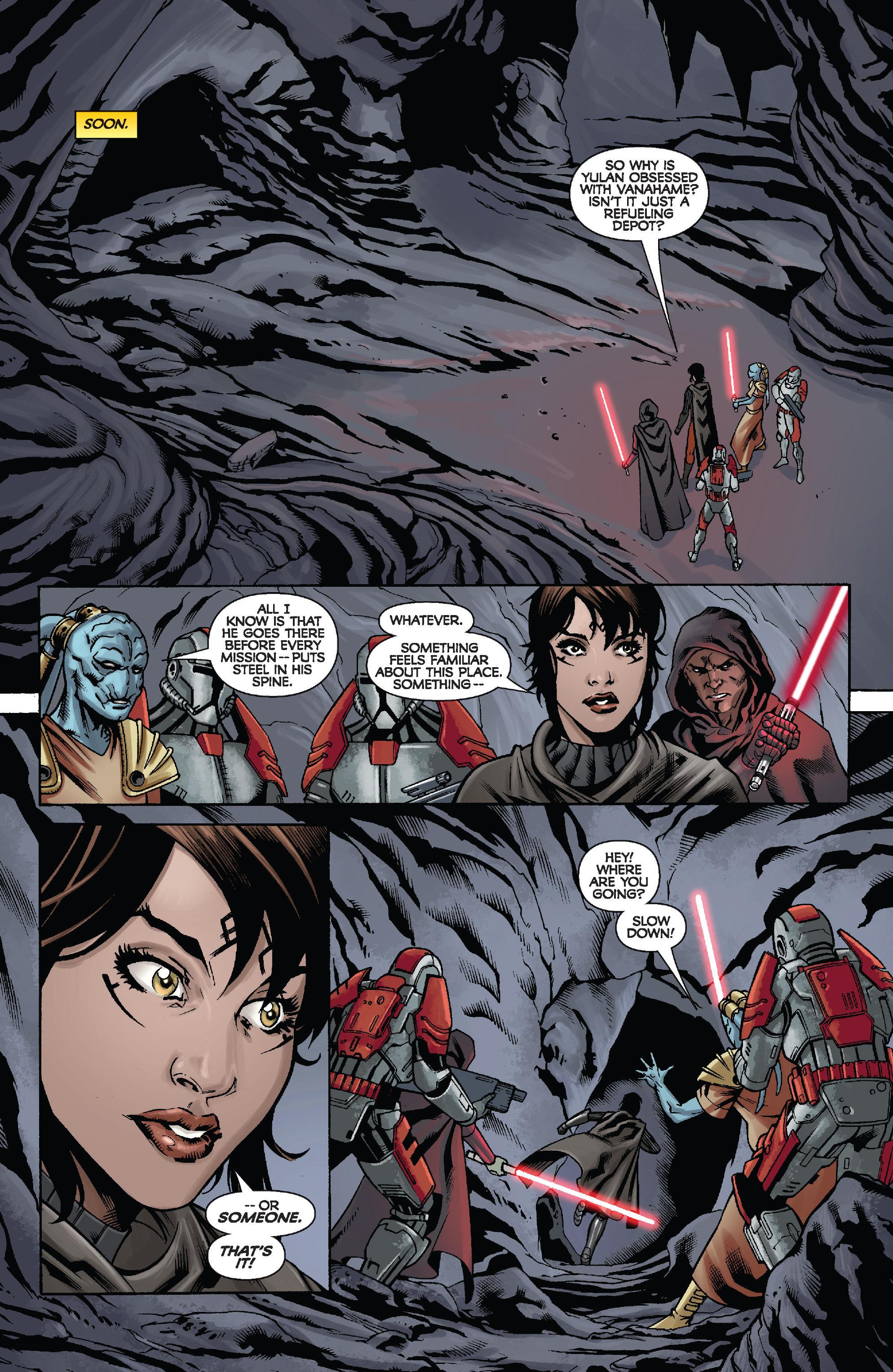 Read online Star Wars: Knight Errant - Escape comic -  Issue #2 - 10