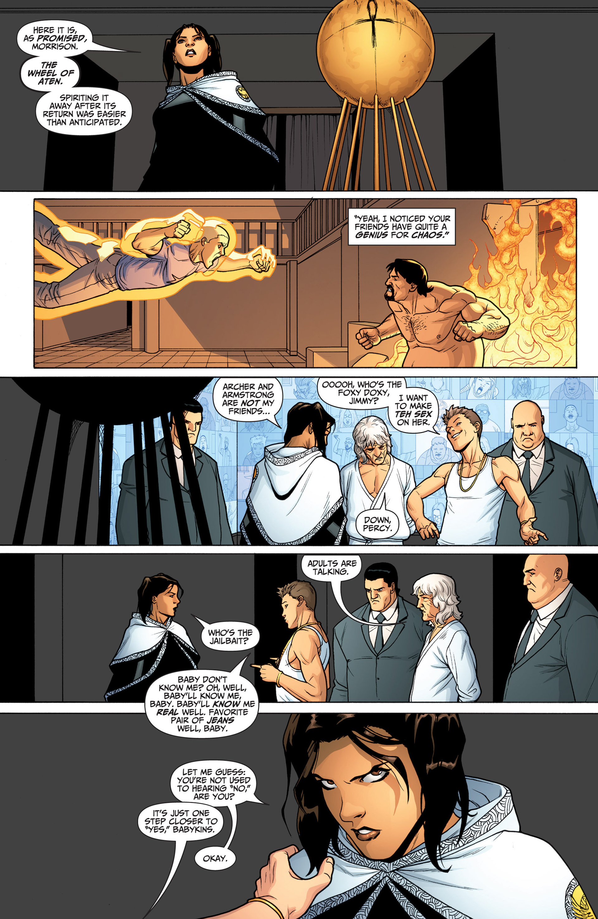 Read online Archer and Armstrong comic -  Issue #23 - 3