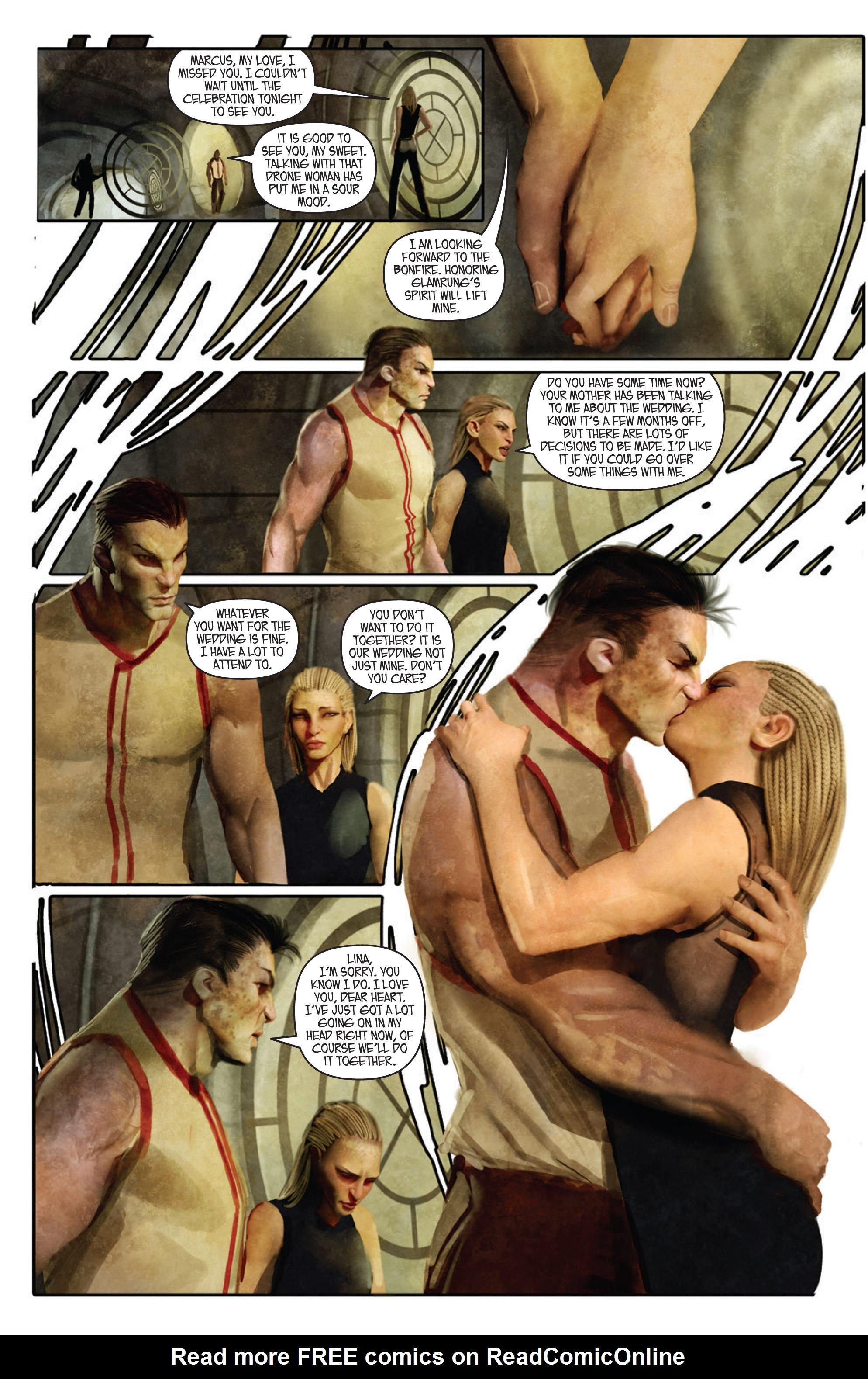 Read online Aphrodite IX (2013) comic -  Issue #Aphrodite IX (2013) _TPB 1 - 39