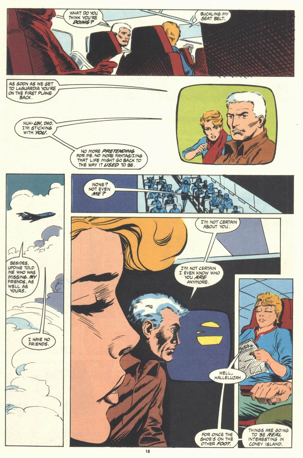 Read online Justice (1986) comic -  Issue #31 - 20
