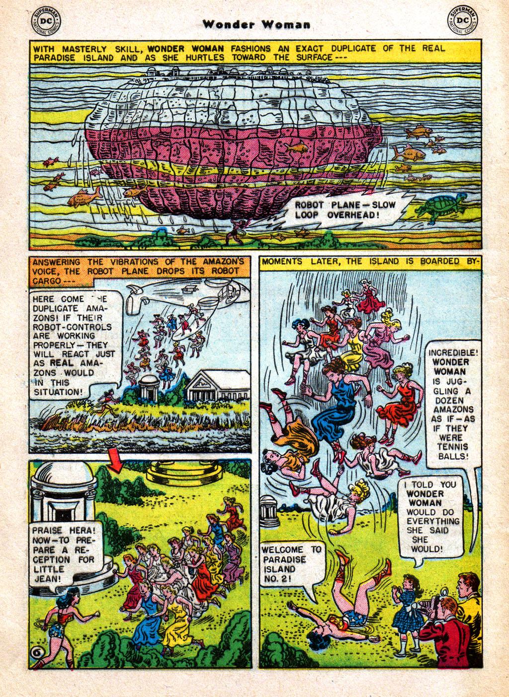 Read online Wonder Woman (1942) comic -  Issue #77 - 8