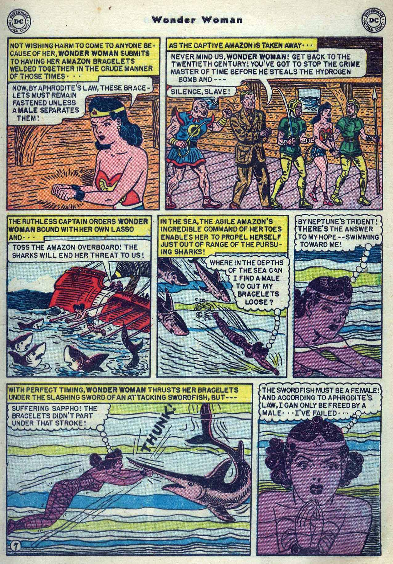 Read online Wonder Woman (1942) comic -  Issue #53 - 9