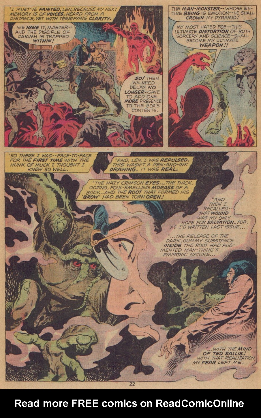 Man-Thing (1974) issue 22 - Page 15