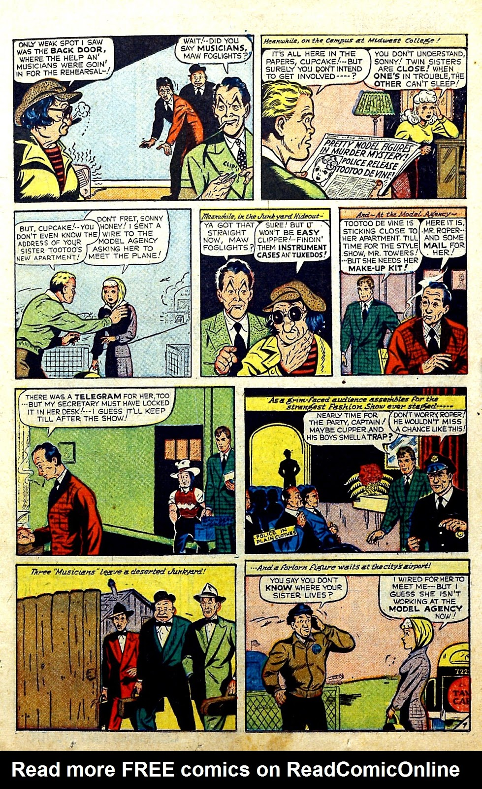 Read online Famous Funnies comic -  Issue #185 - 14