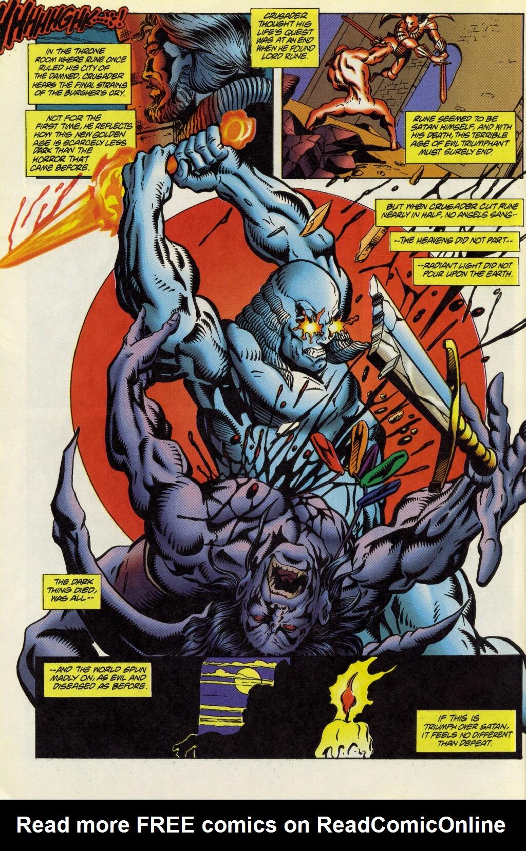 Read online Rune (1995) comic -  Issue #5 - 5