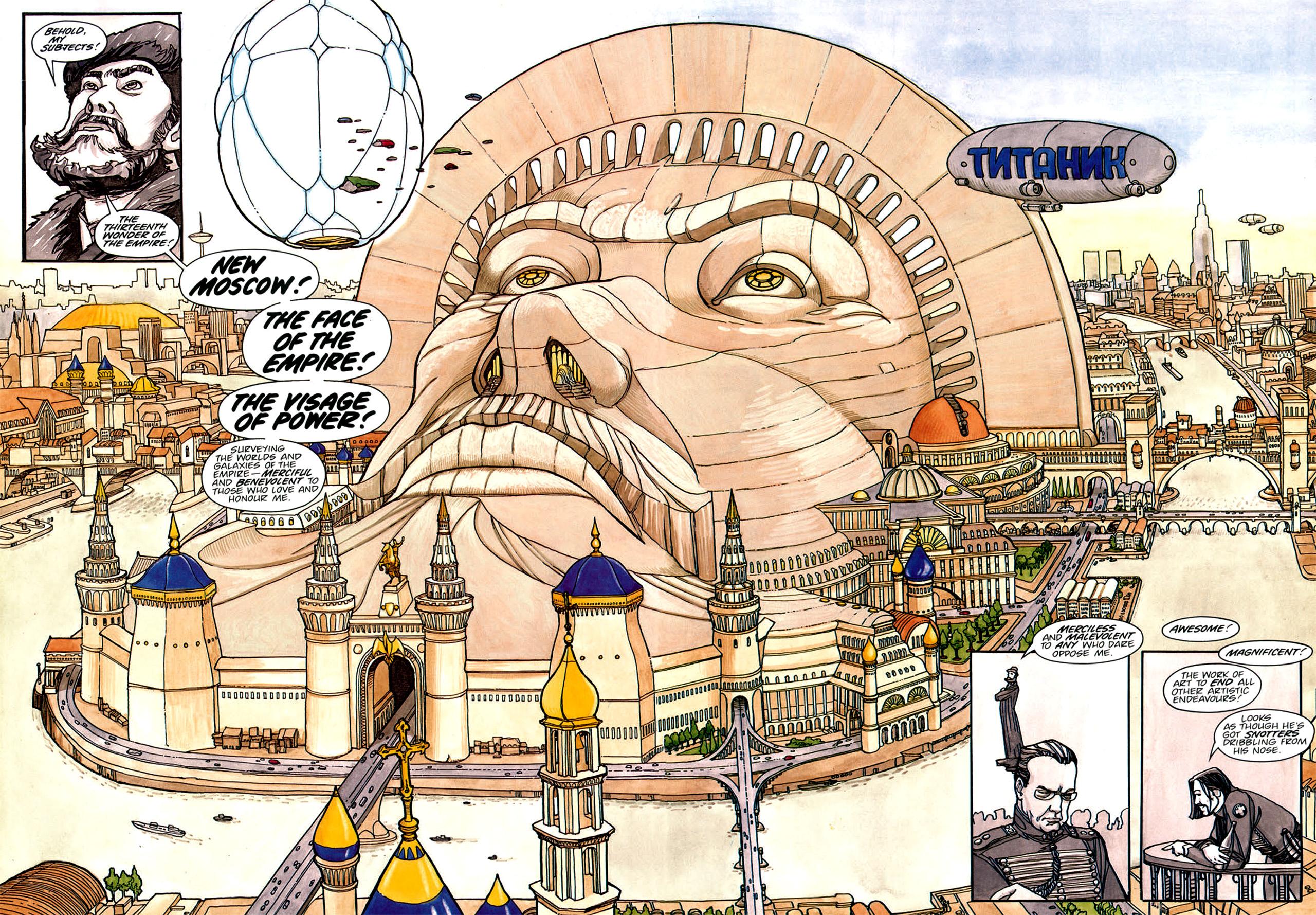 Read online Nikolai Dante comic -  Issue # TPB 1 - 133