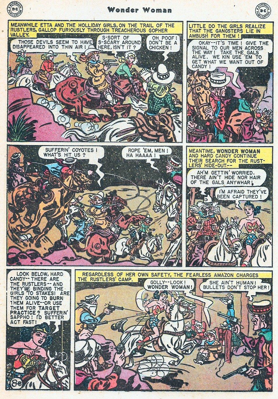 Read online Wonder Woman (1942) comic -  Issue #27 - 28