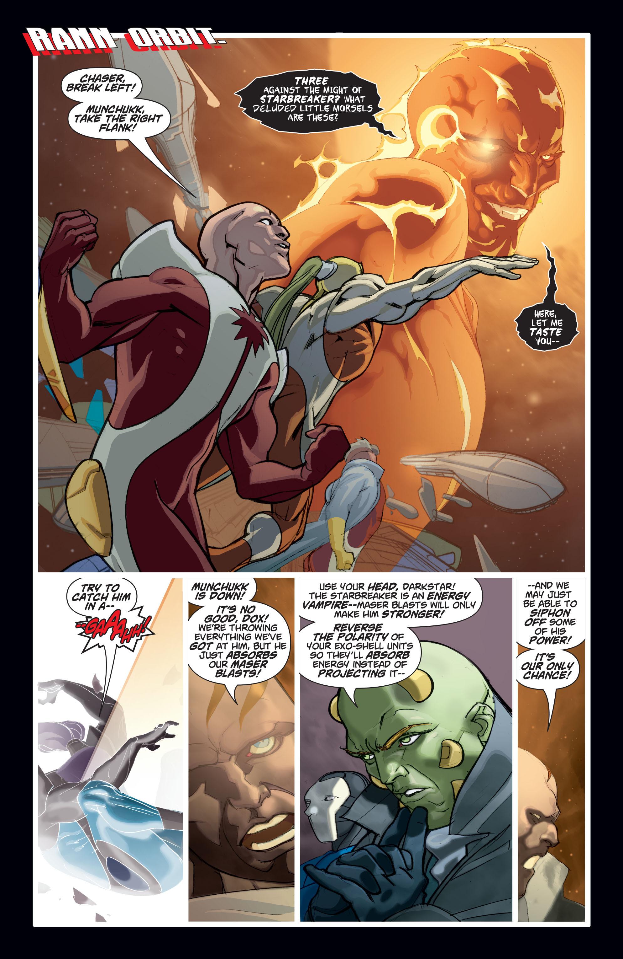 Read online Adam Strange (2004) comic -  Issue #8 - 13