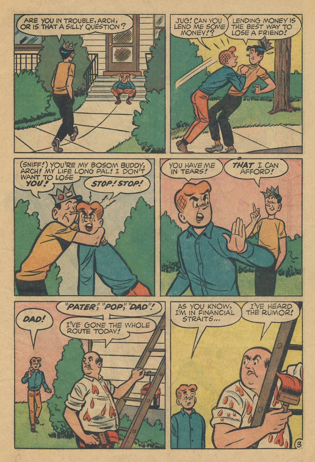 Read online Archie (1960) comic -  Issue #170 - 5