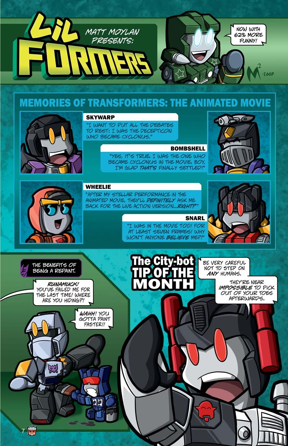 Read online Transformers: Collectors' Club comic -  Issue #15 - 7