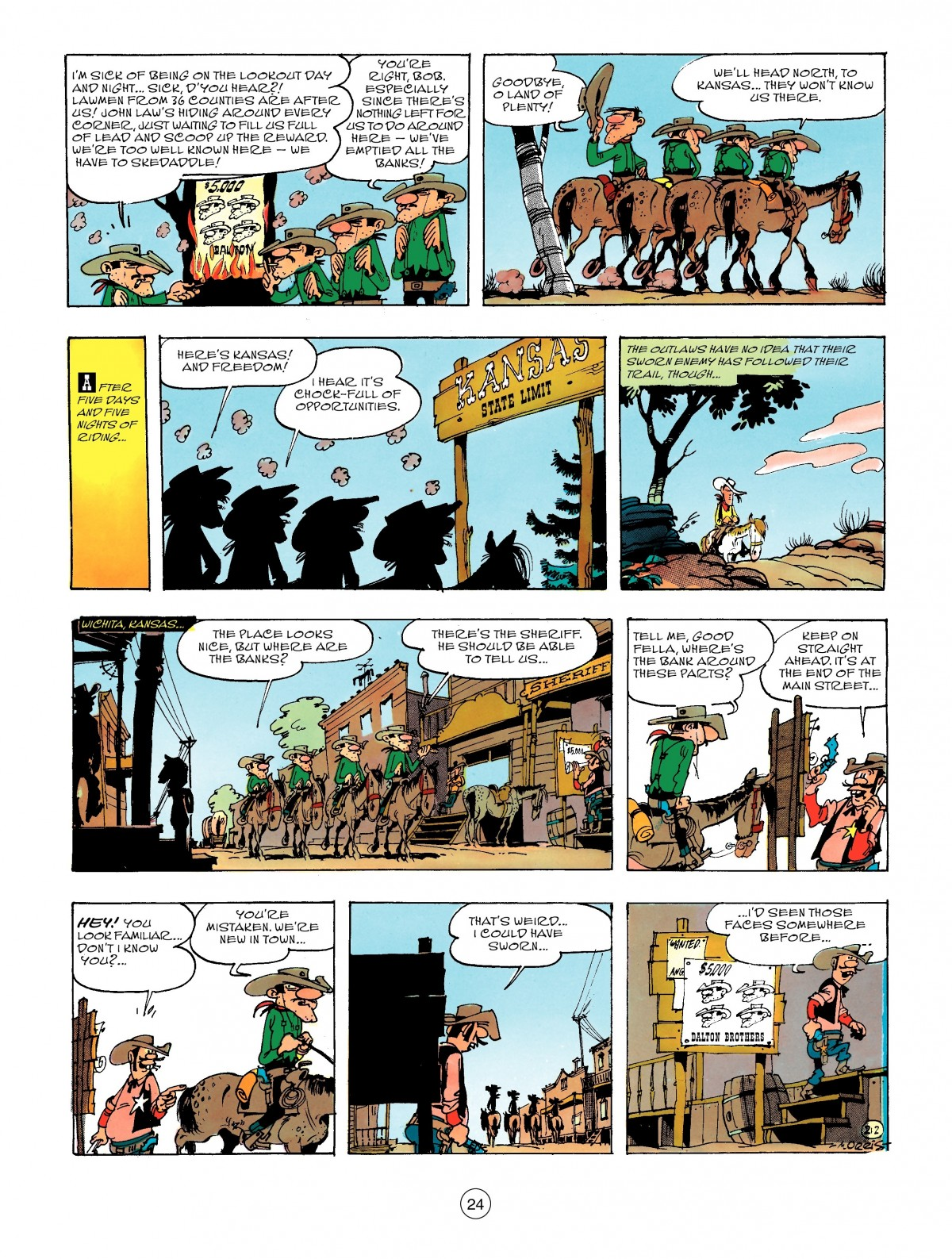 Read online A Lucky Luke Adventure comic -  Issue #47 - 24