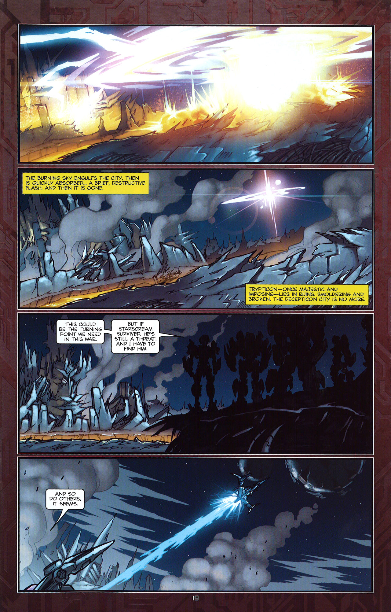 Read online Transformers: The Reign of Starscream comic -  Issue #5 - 22