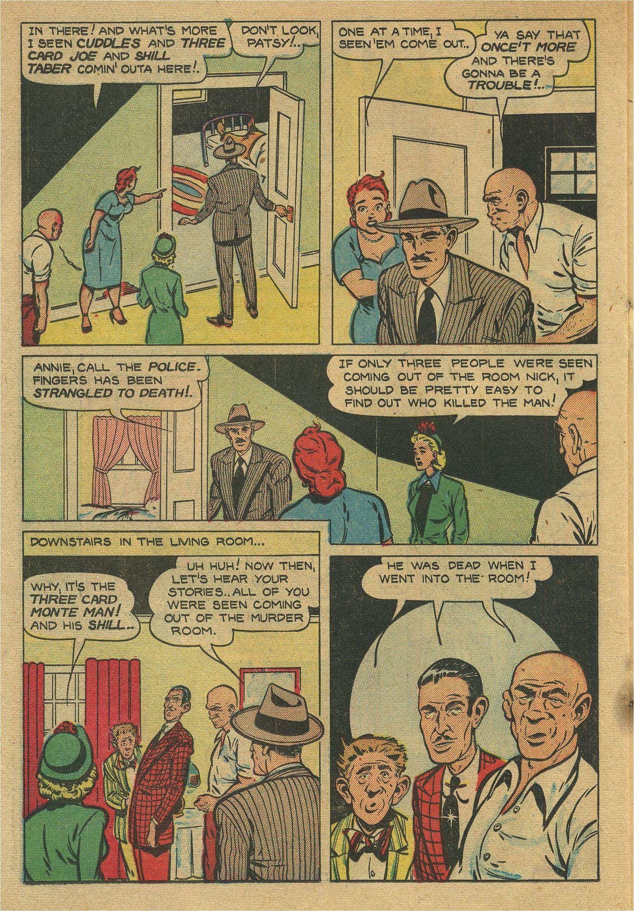 Read online Shadow Comics comic -  Issue #93 - 37
