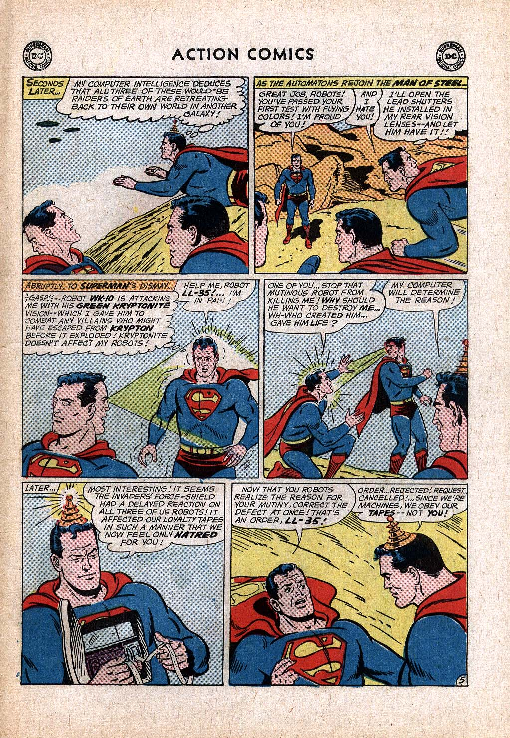 Read online Action Comics (1938) comic -  Issue #299 - 7