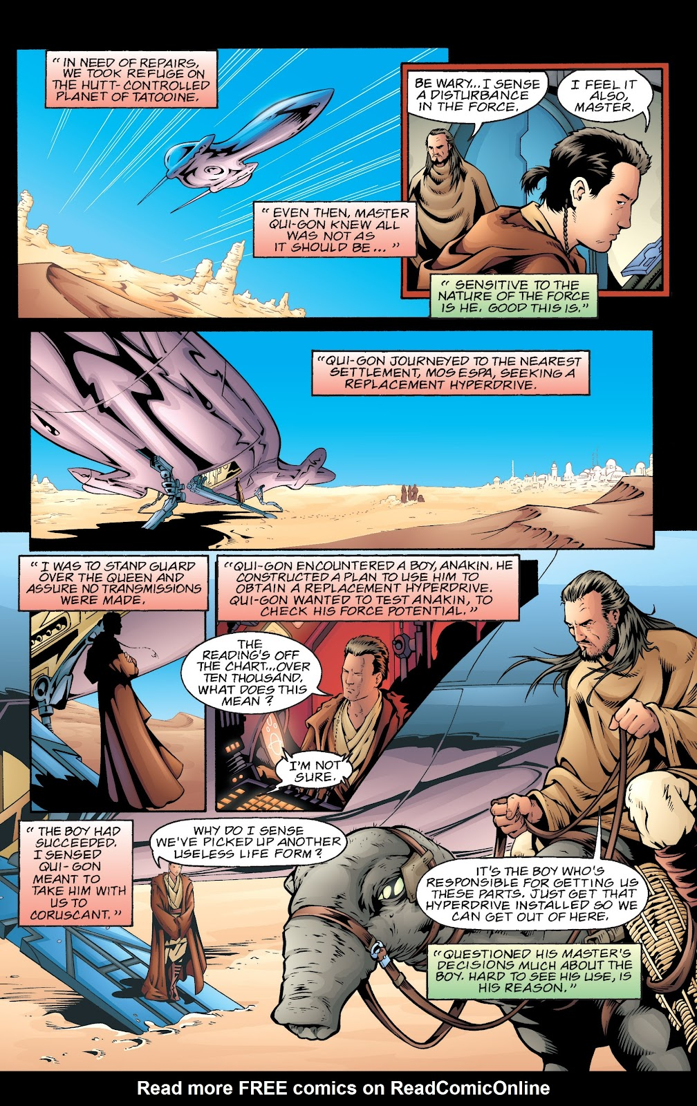 Read online Star Wars Legends: Rise of the Sith - Epic Collection comic -  Issue # TPB 2 (Part 5) - 34