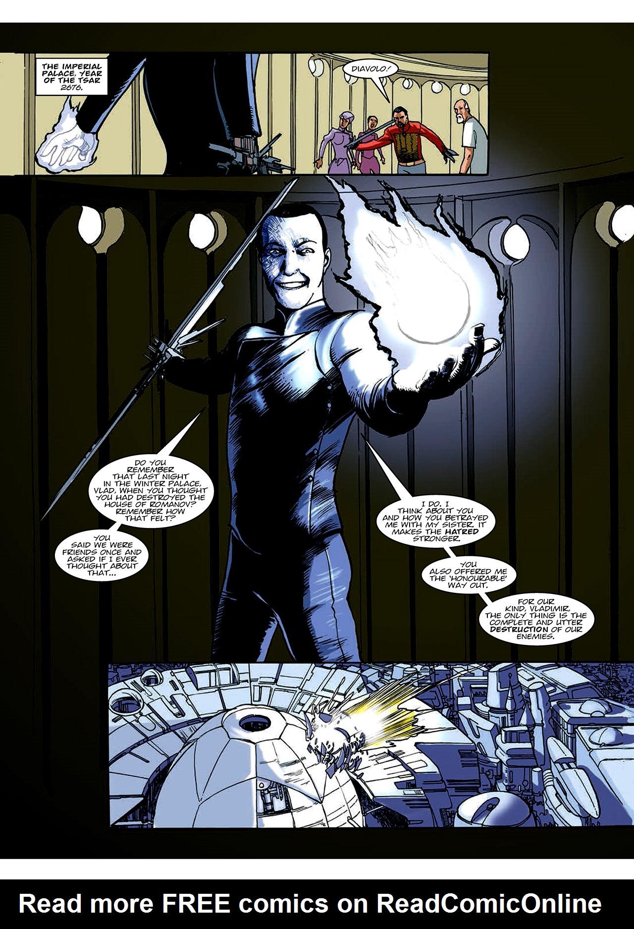 Read online Nikolai Dante comic -  Issue # TPB 10 - 94