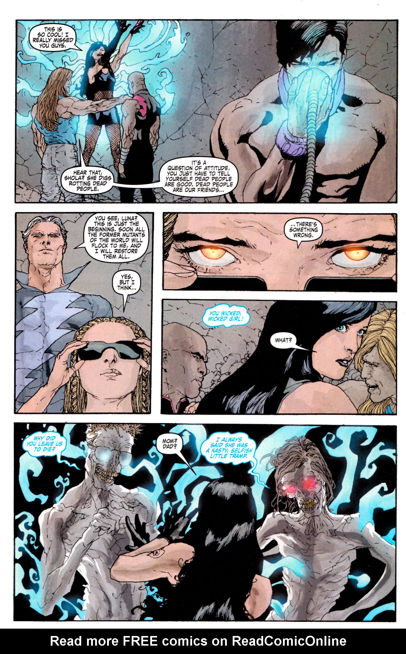 Read online Son of M comic -  Issue #5 - 9