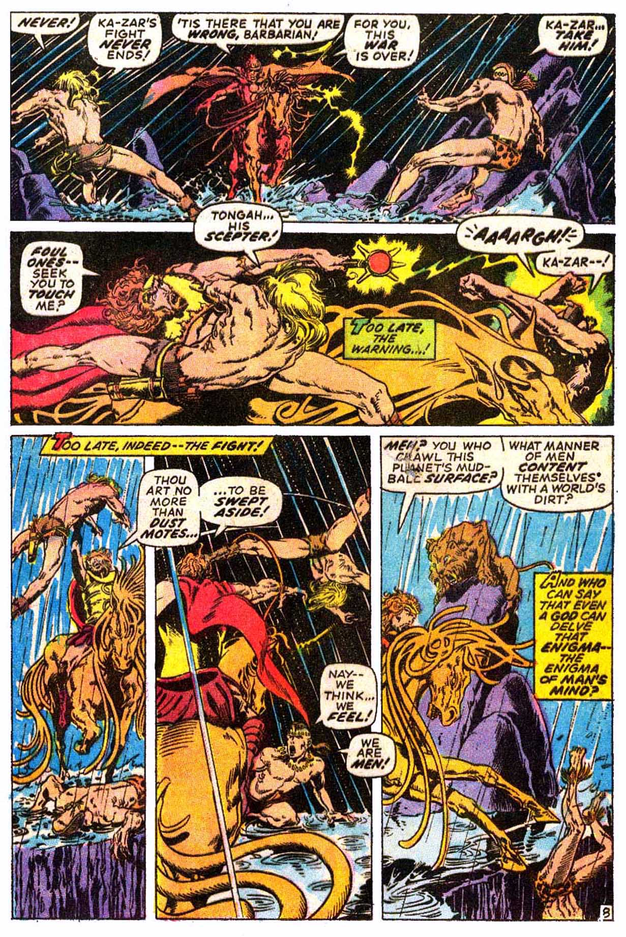 Read online Astonishing Tales (1970) comic -  Issue #6 - 19