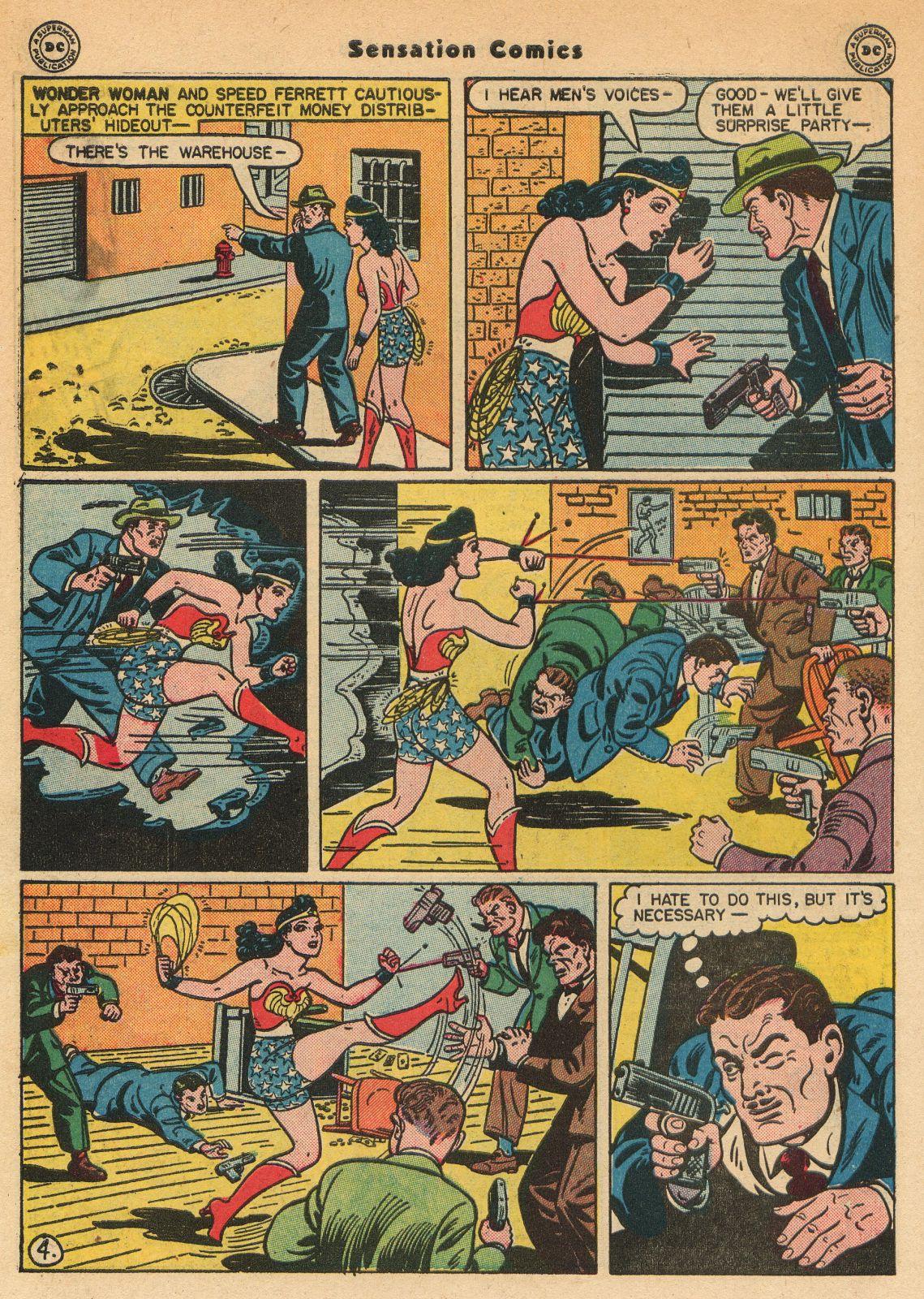 Read online Sensation (Mystery) Comics comic -  Issue #51 - 6