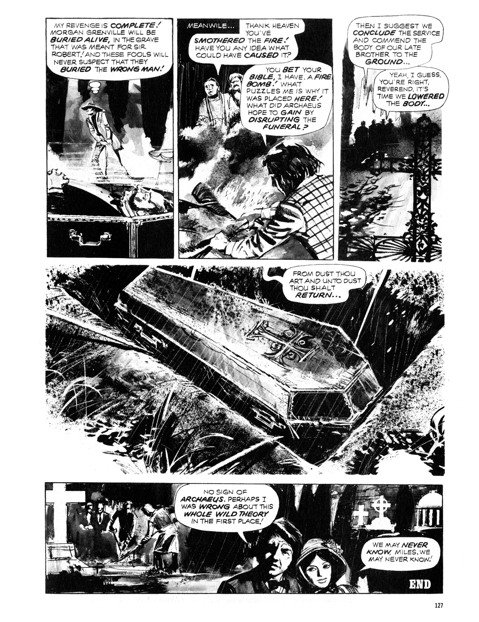Read online Eerie Archives comic -  Issue # TPB 12 - 128