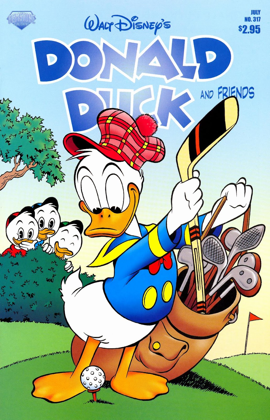Walt Disney's Donald Duck (1952) issue 317 - Page 1
