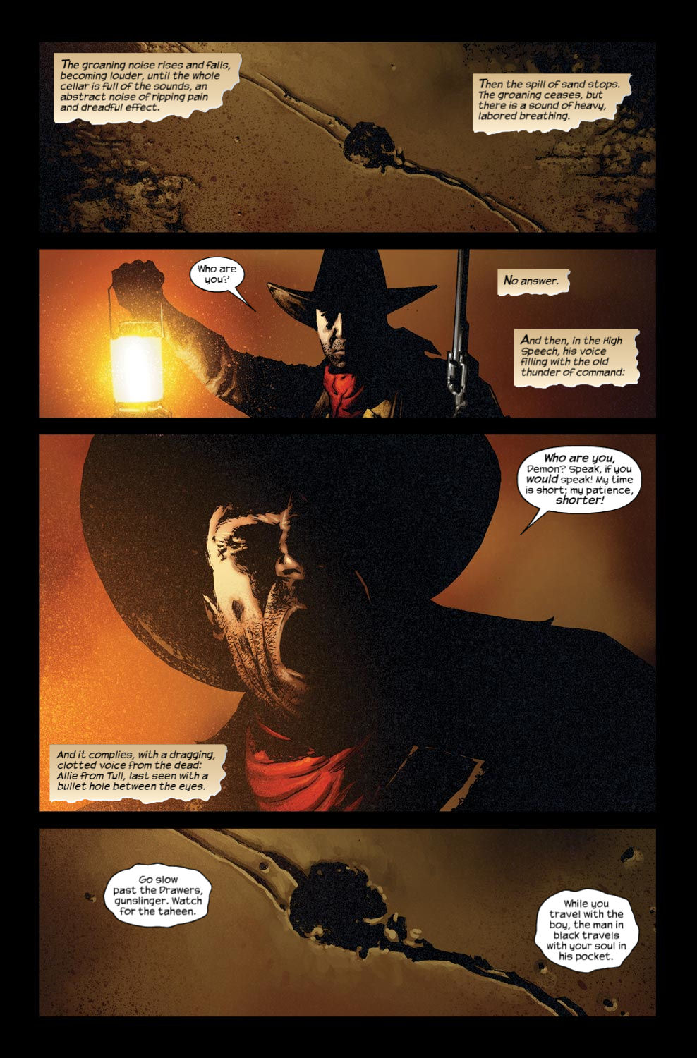 Read online Dark Tower: The Gunslinger - The Way Station comic -  Issue #3 - 16