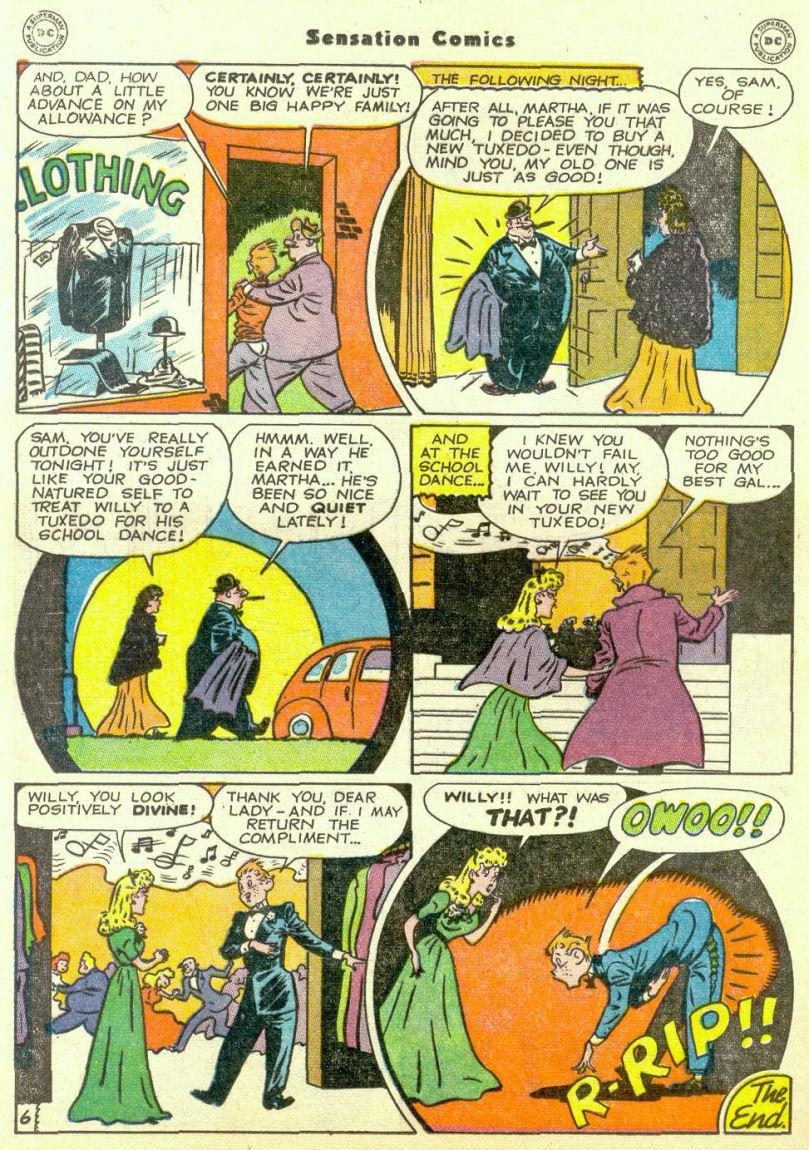 Read online Sensation (Mystery) Comics comic -  Issue #67 - 30