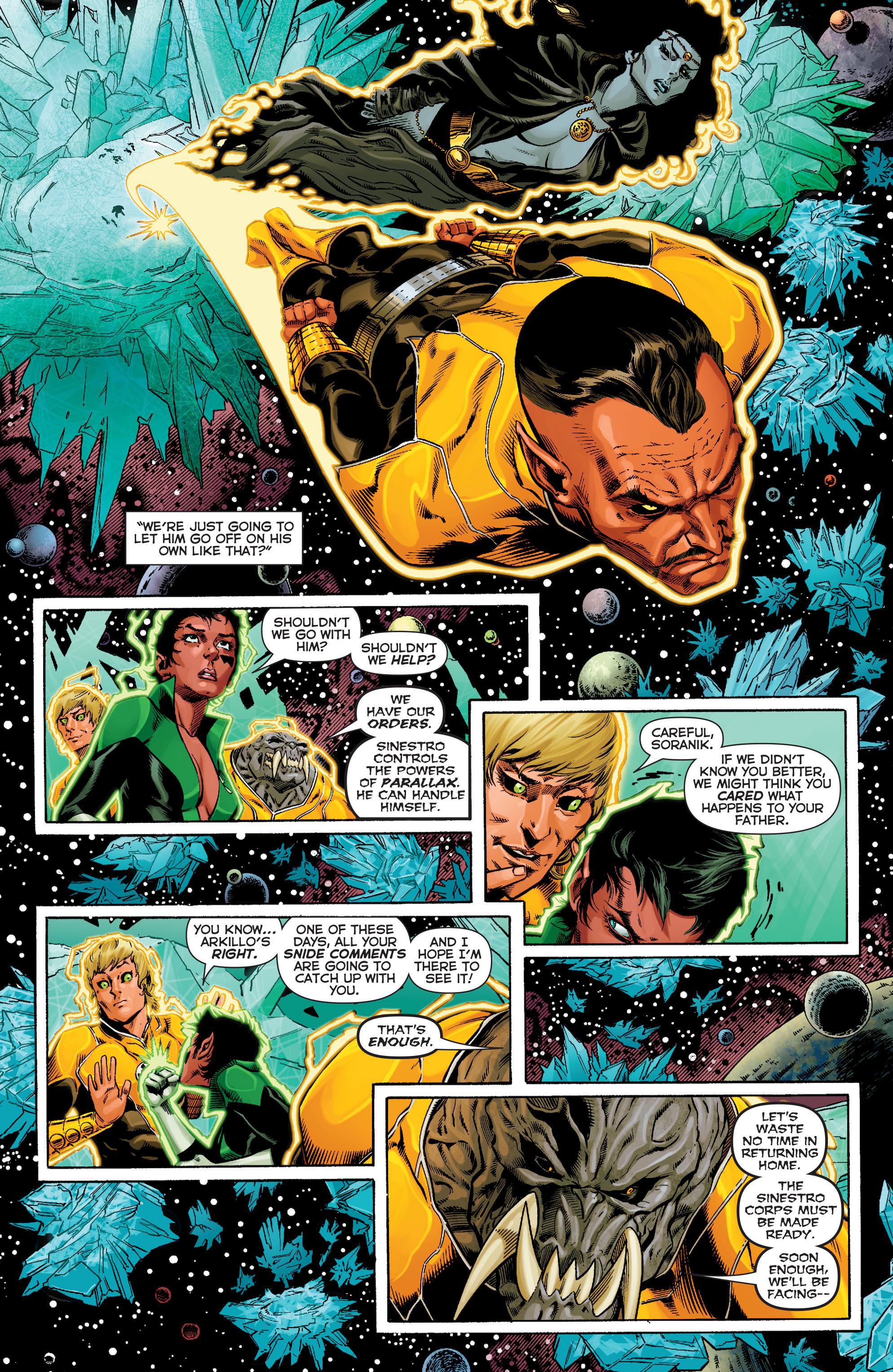 Read online Sinestro comic -  Issue #9 - 12