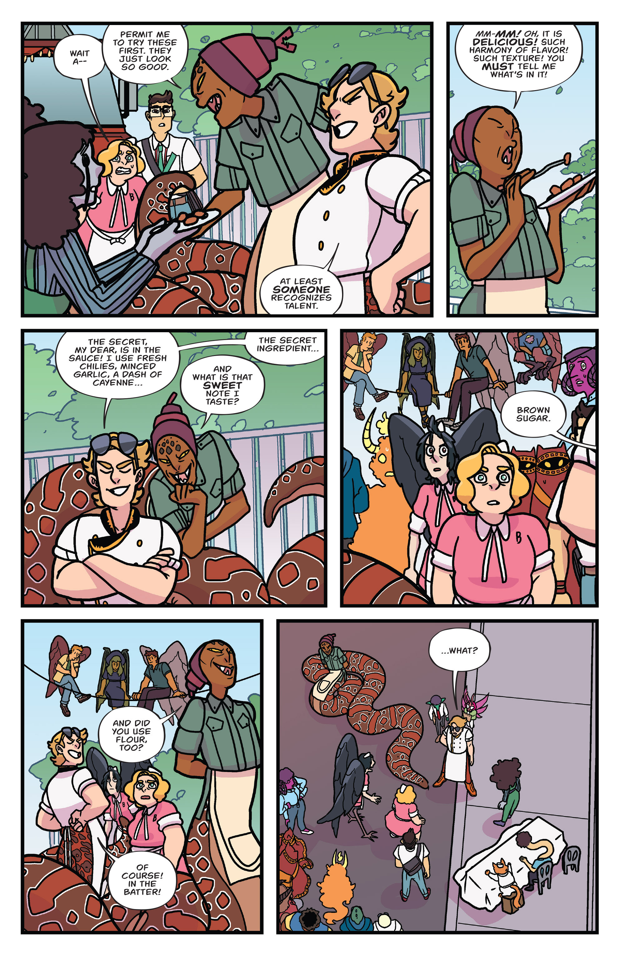 Read online Brave Chef Brianna comic -  Issue #3 - 19