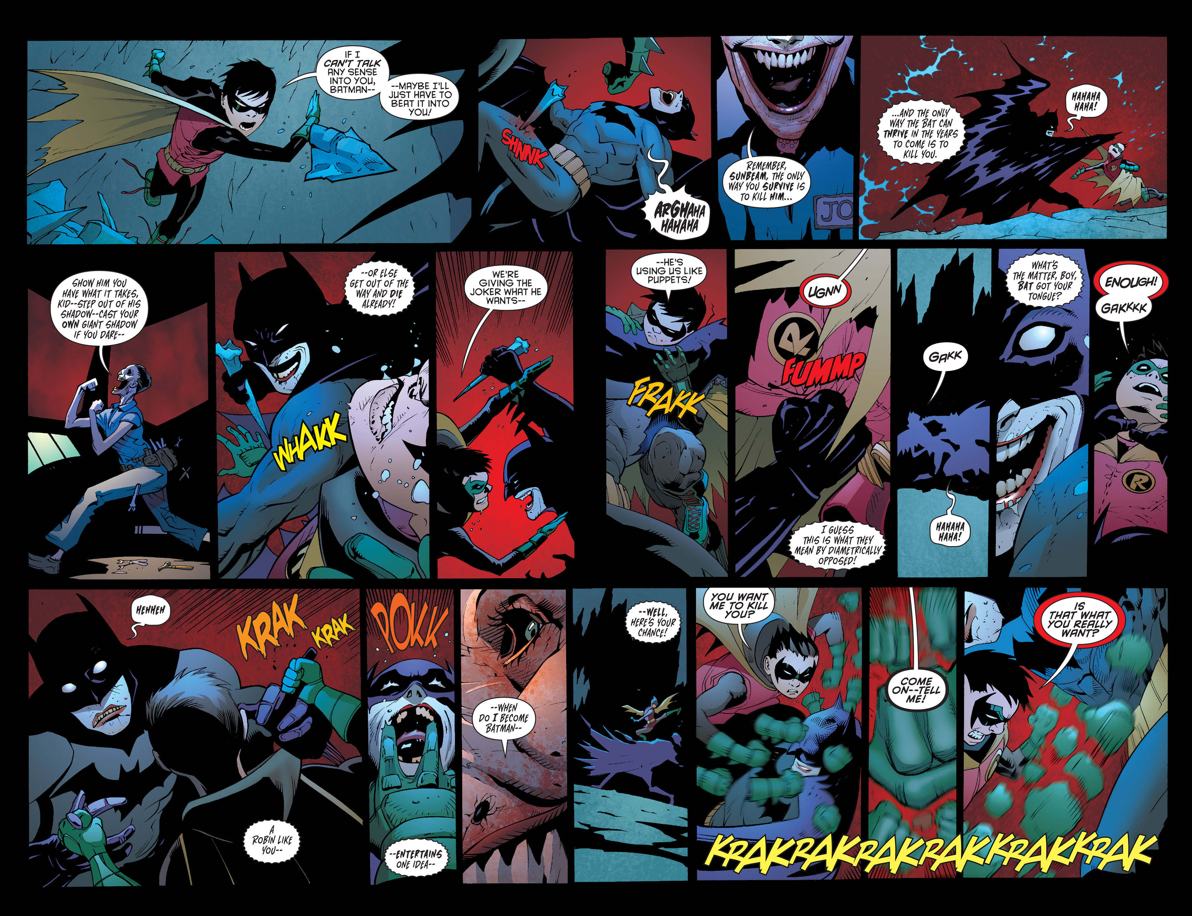 Read online Batman and Robin (2011) comic -  Issue #16 - 13