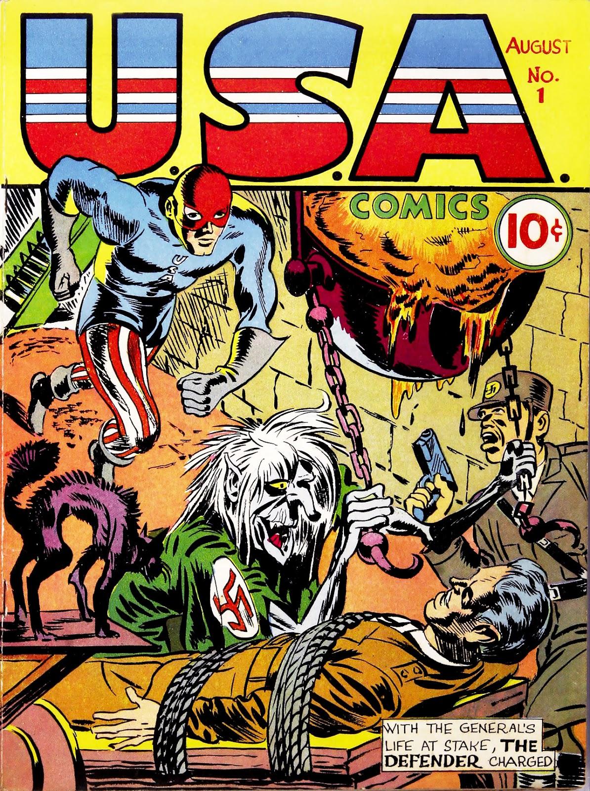 USA Comics 1 Page 1