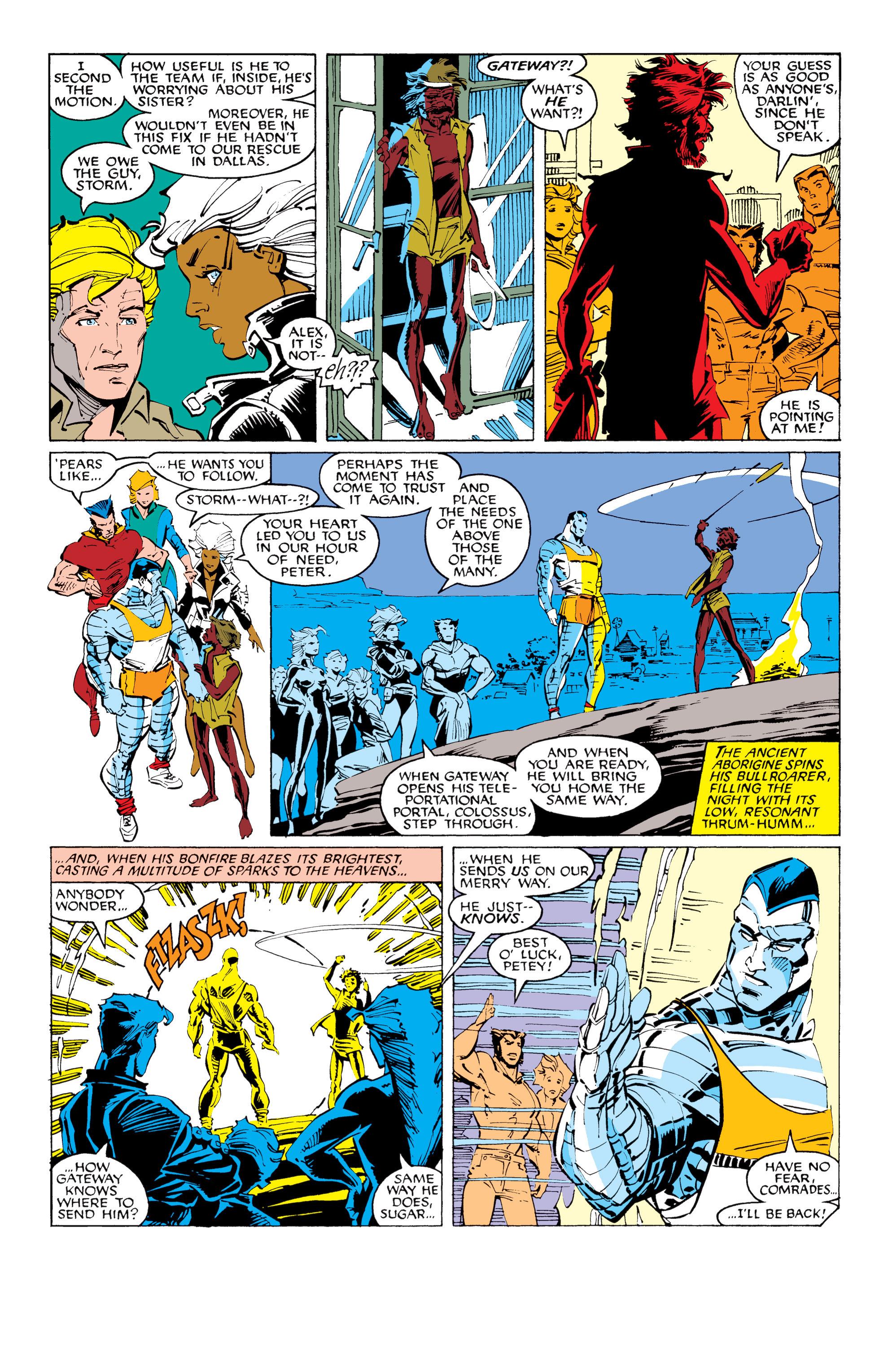 Read online Uncanny X-Men (1963) comic -  Issue #231 - 9