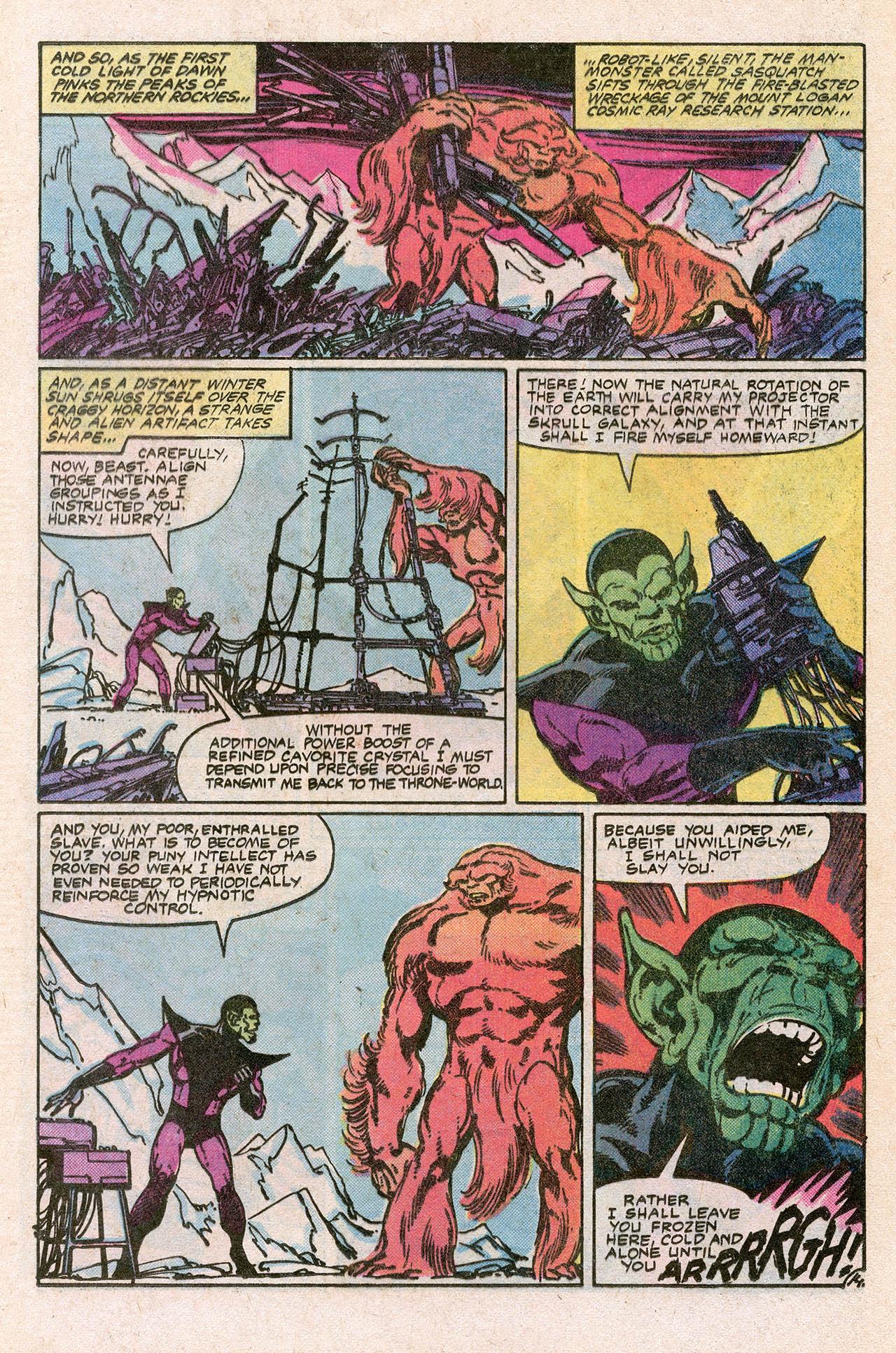 Read online Alpha Flight (1983) comic -  Issue #10 - 20