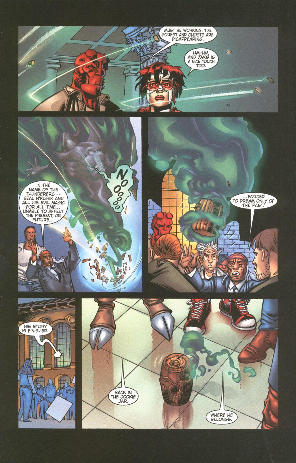 Read online Painkiller Jane/Hellboy comic -  Issue # Full - 23