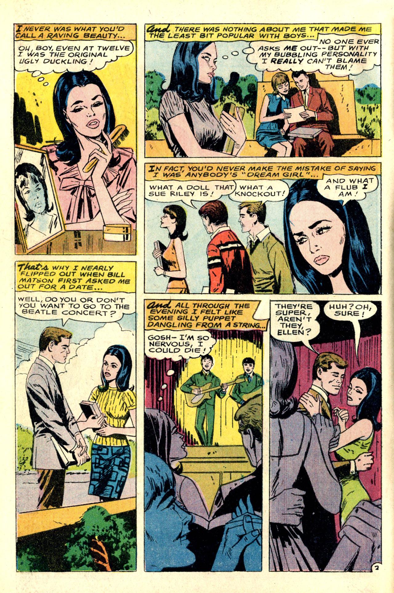 Read online Secret Hearts comic -  Issue #127 - 4