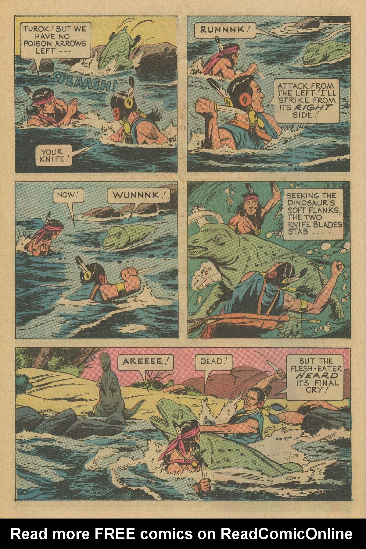 Read online Turok, Son of Stone comic -  Issue #95 - 24