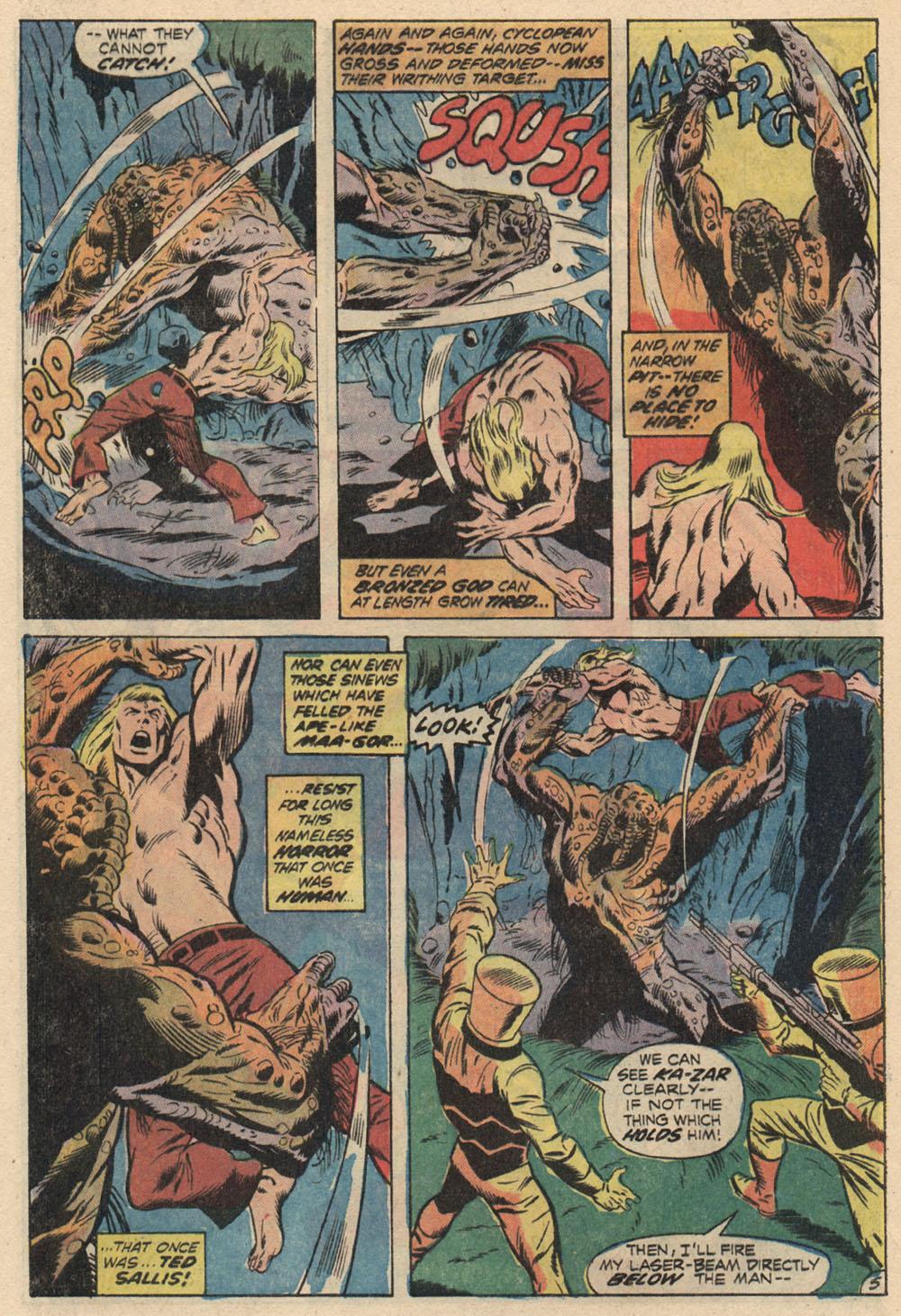 Read online Astonishing Tales (1970) comic -  Issue #13 - 6