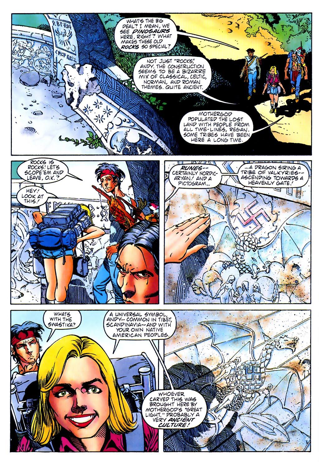 Read online Turok, Dinosaur Hunter (1993) comic -  Issue #37 - 10
