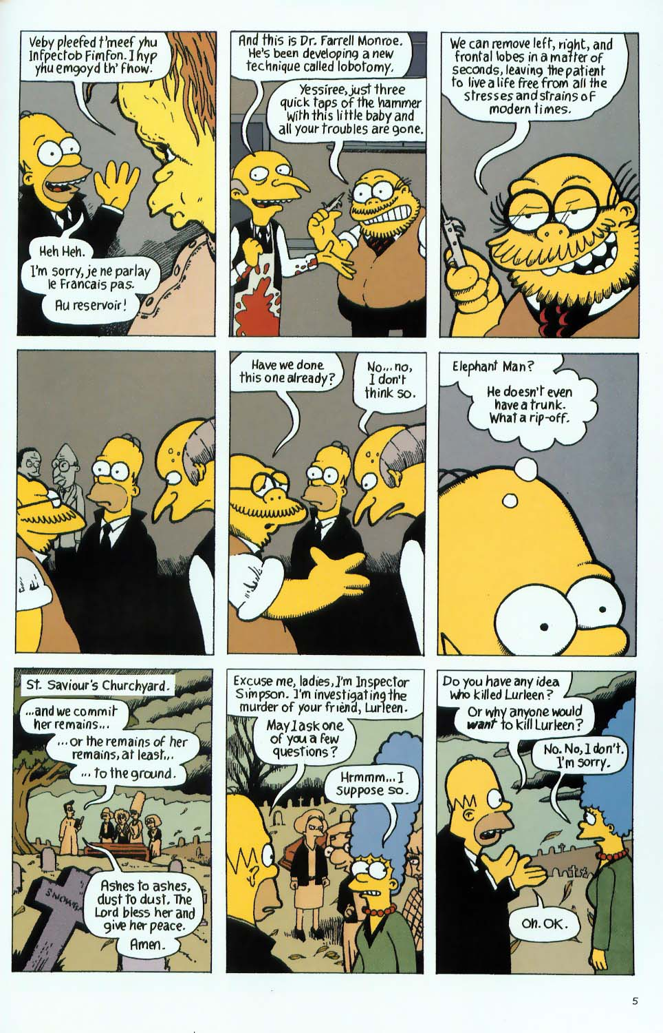 Read online Treehouse of Horror comic -  Issue #9 - 37