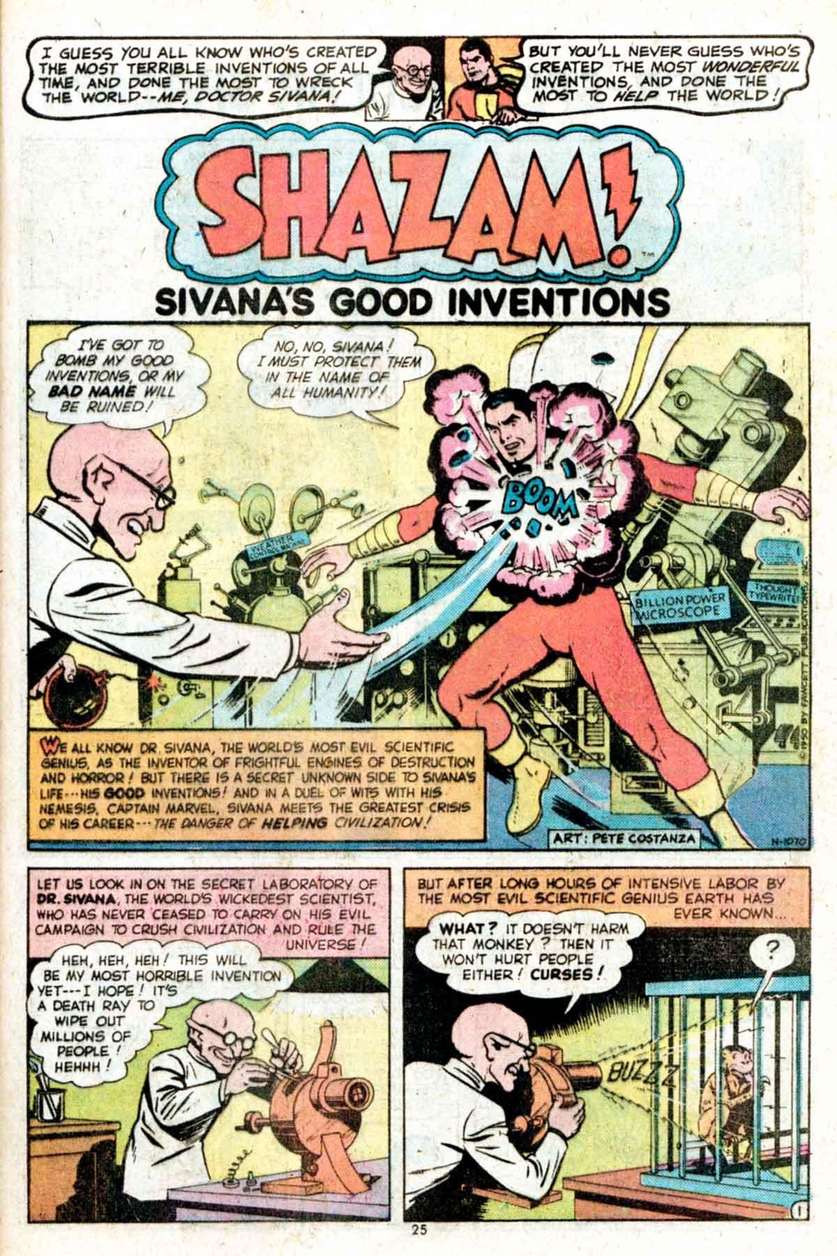 Read online Shazam! (1973) comic -  Issue #15 - 25