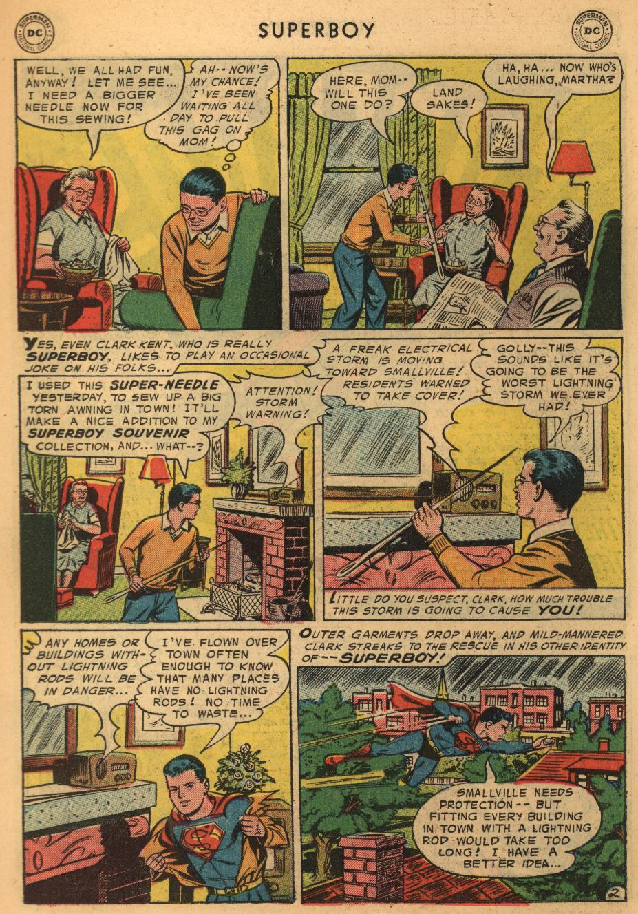 Superboy (1949) issue 45 - Page 11